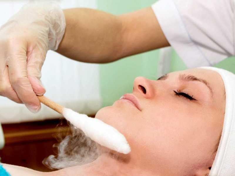криотерапия для лица фото
